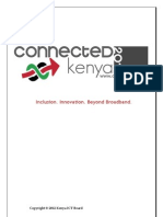 Kenya ICT Masterplan 2012-2017 For Review