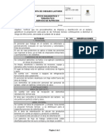 ADT-FO-331-005 Lista de Chequeo Lactario