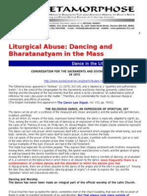 2adbbbbe043c3 Dancing and Bharatanatyam in the Mass | Mass (Liturgy) | Anglicanism