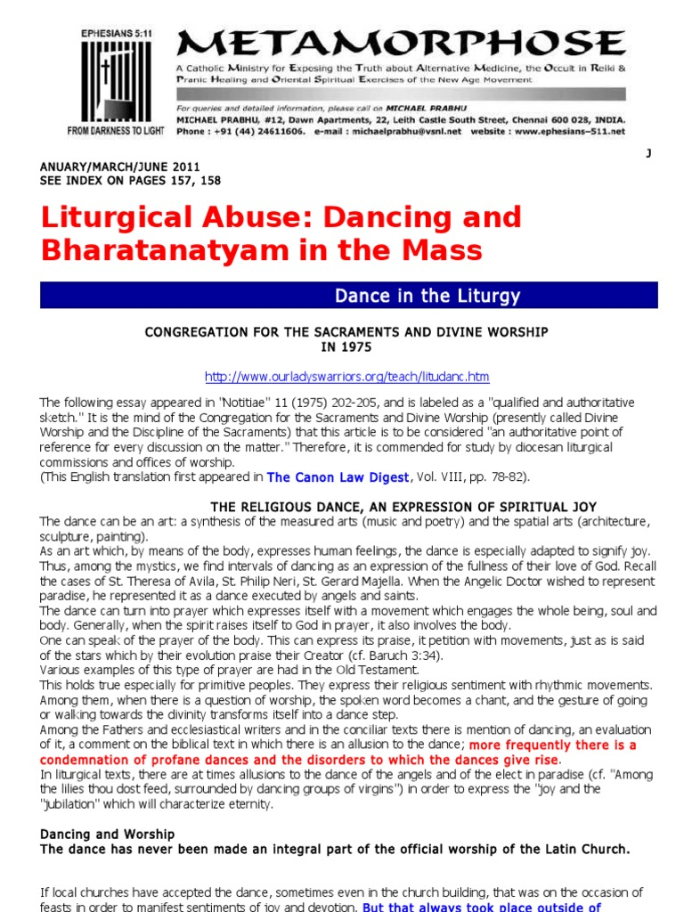 Dancing and bharatanatyam in the mass mass liturgy anglicanism fandeluxe Images