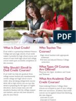 Navarro College Dual Credit Brochure