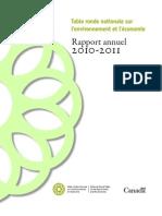 Rapport annuel de la TRN 2010-2011