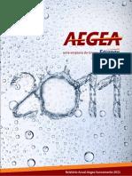Aegea Relatório Anual 2011