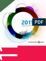 Internacinal Paper Relatório Anual 2011