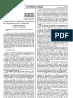 Decreto Regional Nº 003-2012-GRL-PRES Prep Clase