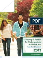 Applying to Hofstra for Undergraduate Admission as a Transfer Student