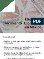 Etapas del Crecimiento Económico en México salinas-calderon