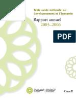 Rapport annuel de la TRN 2005-2006