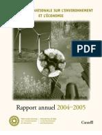 Rapport annuel de la TRN 2004-2005