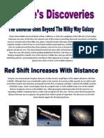 Hubbles Discoveries