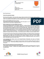 Ixworth Middle SOR Letter Oct 2012