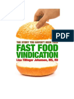 Fast Food Vindication Chapter One Sample PDF