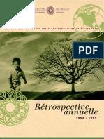 Rapport annuel de la TRN 1994-1995