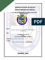 Open Pit de La Facultad de Ingenieria de Minas