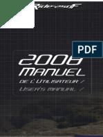 User Manual T-RIDE 250F 08