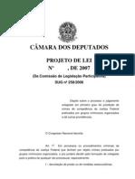 Tramitacao-PL 2057 2007