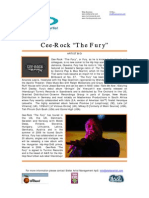 CEE-ROCK ''THE FURY'' [Press Kit]