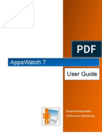 AppsWatch User Guide