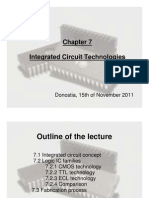 Integrated circuit technologies