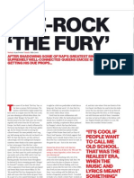 HHC Magazine Interviews Cee-Rock ''the Fury'' in a 4-Page Exclusive (HHC - July 2008 Issue)