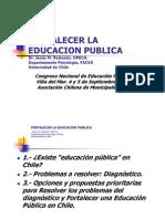 Fortalecer Educacion Publica