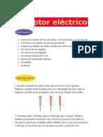 Experimento de Motor Electrico