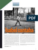 Isabel cantaba (un fragmento)