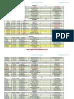 Calendario Noviembre - Diciembre 2013