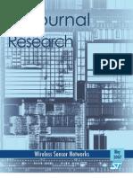 ST Journal of Research 4.1 - Wireless Sensor Networks
