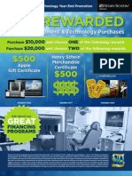 2012 Equipment & Technology Year-End Promotion
