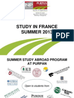 Purpan's 2013 Summer Study Abroad Program--Toulouse, France