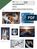 Lesson 3 Space Tourism Bac 2012 2013