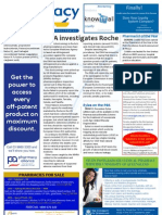 Pharmacy Daily for Wed 24 Oct 2012 - Roche investigation, POTY, Eylea on PBS, Health and Beauty and much more...
