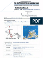 NDRRMC Update Swb No. 6 Ts Ofel, 24 Oct 2012 5am