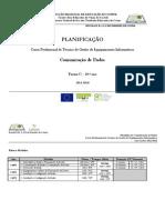 Planificação Anual - Comunicação de Dados (Cursos Profissionais)