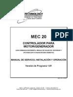 Controlador Para Motorgenerador Mec20