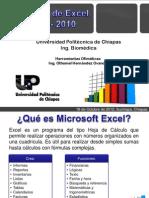 Entorno de Microsoft Excel 2007 y 2010