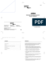 Lafayette Jamar Hand Dynamometer Users Manual