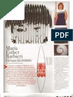 María Esther Barbieri ARTEFACTO Edición Especial N° 3 2010.