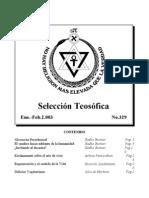 Selección Teosófica - Ene 2003