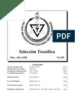 Selección Teosófica - Mar 2003