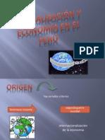 Globalización y Economía en el Perú