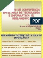ACUERDOS DE CONVIVENCIA EN EL AULA DE TECNOLOGÍA