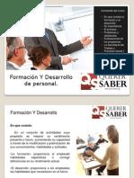 Formacion y Desarrollo en la empresa
