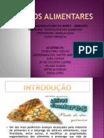 Slides Aditivos Alimentares