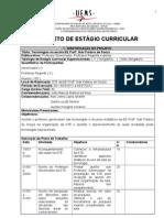 Projeto de Estagio Curricular_1º Semestre