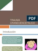 Trauma craneoencefálico en niños