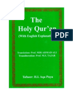 Commentary of The Glorious Qur'an with Transliteration by Prof. Mahmood Tajar