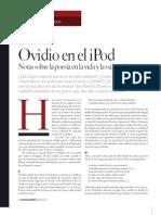 Ovidio en el iPod, de José Emilio Pacheco