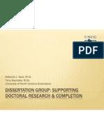 Dissertation Group